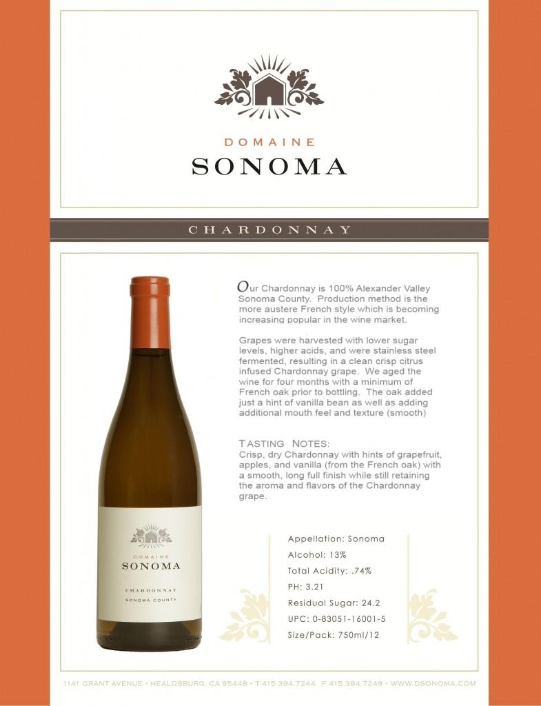 TN DSONOMA Chardonnay 12